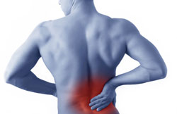 back pain treatment massage